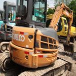 The used excavator Kobelco CA30 has many feature and applications when it is used for construction. It is equ...
