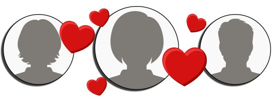 Create a romantic and wonderful collage of the people you love most!