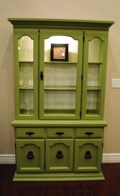 How To Refinish A Hutch