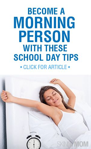 Not a morning person? Become one with these tips on getting up in the morning!