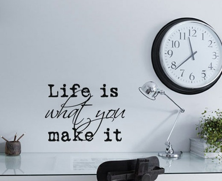 Make it - Wallsticker