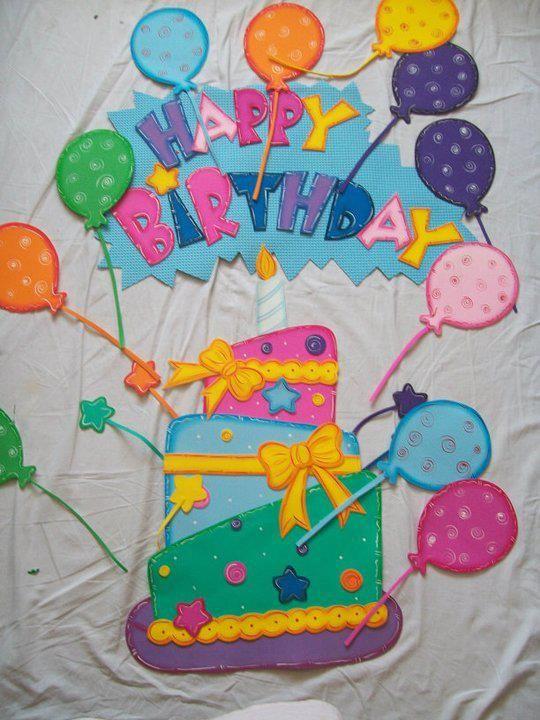 Otras ideas para las carteleras de cumpleaños (1)                                                                                                                                                                                 Más