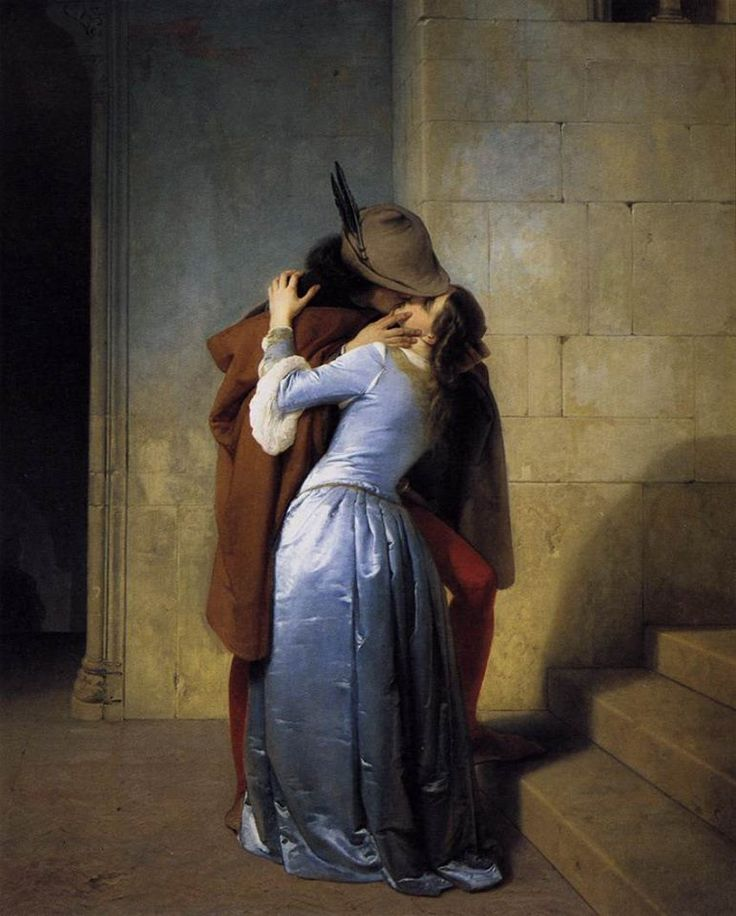Francesco #Hayez, olio su tela - 1859