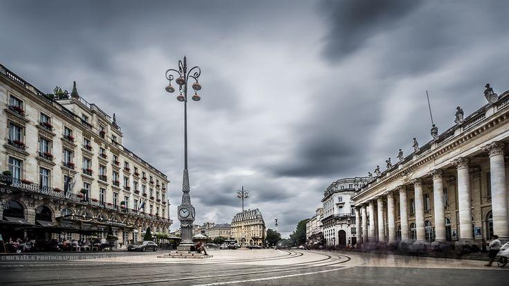 La place de la comédie by Mickael Guilbert on 500px