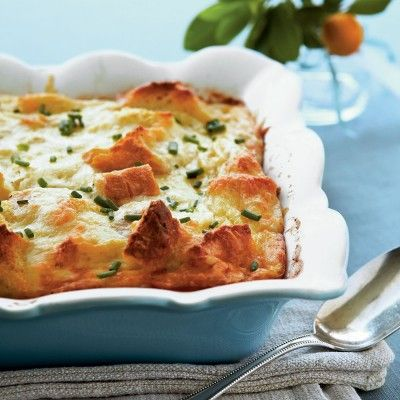 Creamy Egg Strata - Thanksgiving Brunch Recipes - Southern Living