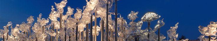 Earthwork Art - Dale Chihuly's Niijima Night Floats - Museum of Glass #ExpediaWanderlust