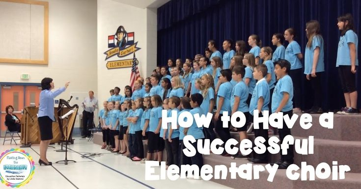 Floating Down the River: How to Have a Successful Elementary Choir