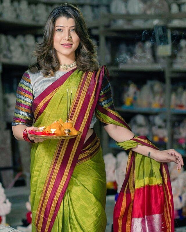 Happybirthday Tejaswinipandit Traditional Blouse Designs Fashion Blouse Design Cotton Saree Designs