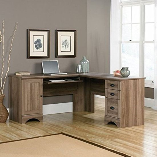 Deal of the Day: 57% Off Sauder Harbor L-Shaped Computer Desk
