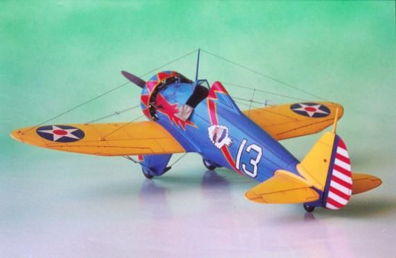 Boeing P-26 Peashooter by Patrick Chung (Academy 1/48)