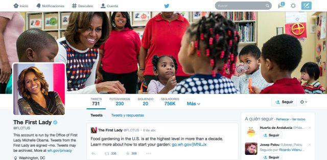 Ejemplo de Nuevo Perfil de Twitter. MUY parecido a Facebook. #redessocieles #twitter
