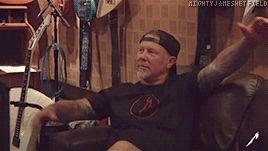 gif James Hetfield from Metallica - Atlas, Rise! 2016