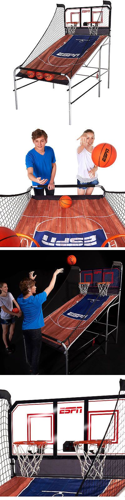 Other Indoor Games 36278: New Espn 2-Player Basketball Game With Authentic Pc Backboard Electronic Arcade -> BUY IT NOW ONLY: $156.99 on eBay!