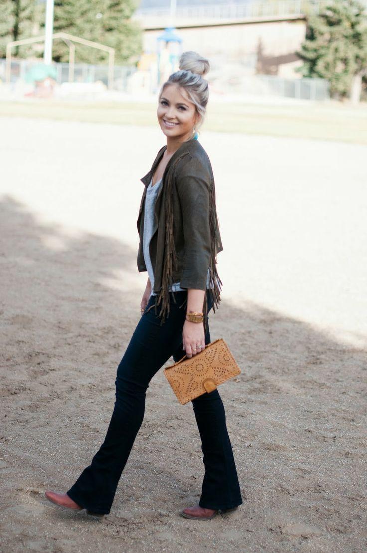 CARA LOREN: fringe jacket.