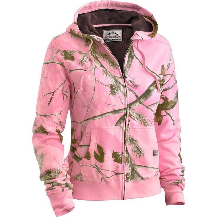 Amazon.com : Legendary Whitetails Womens Hideaway Realtree AP Pink Camo Hoodie…