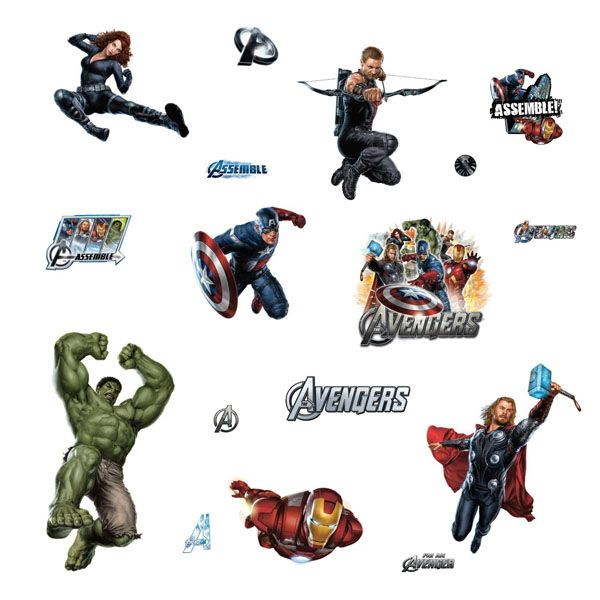 1000 ideas about avengers bedroom on pinterest marvel for Avengers wall mural amazon