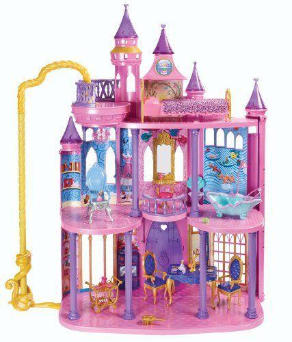 Disney Frozen Dollhouse Castle -Disney Frozen Toys Girls Love -Disney Princess Ultimate Dream Castle  #funthemesforkids #Disneyfrozen
