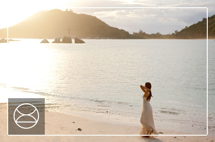 Beach weddings can be just as glamorous as a traditional setting - at Constance Ephelia, Seychelles