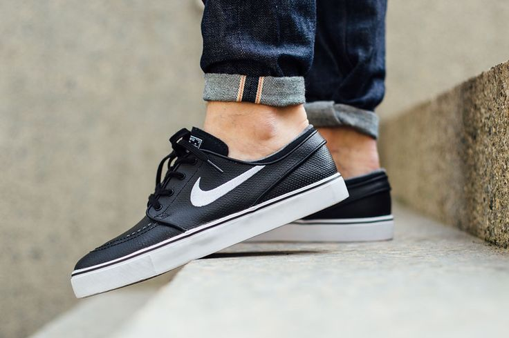 "Nike SB Zoom Janoski Leather ""Black, White & Grey"" - EU Kicks: Sneaker Magazine"