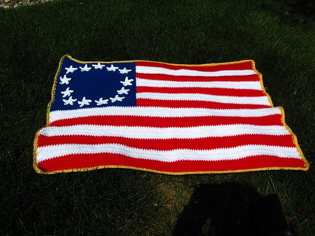 Ravelry: Independence Day Flag pattern by Jeannie Juhnke Farver