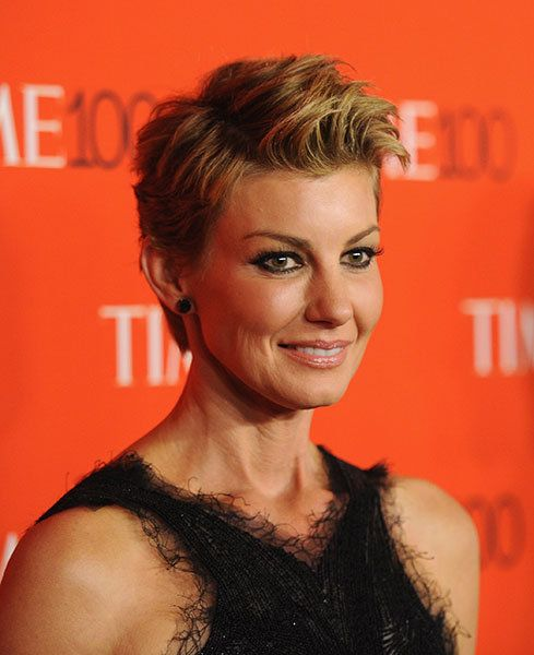 17 Best Ideas About Faith Hill Hair On Pinterest