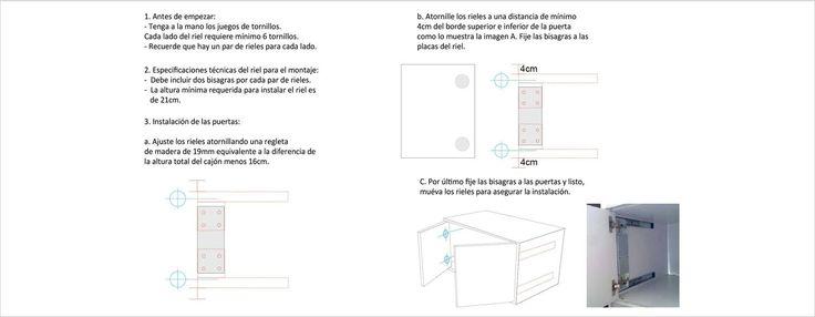 Riel Repon Puerta Escondida 25 Libras — Ardisa - Materiales para Construcción y Remodelación