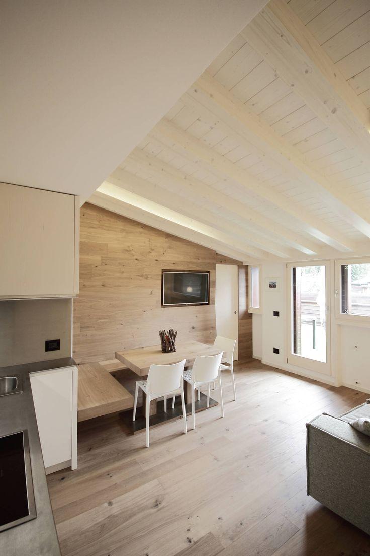 Oltre 25 fantastiche idee su pareti della sala da pranzo - Sala da pranzo rustica ...