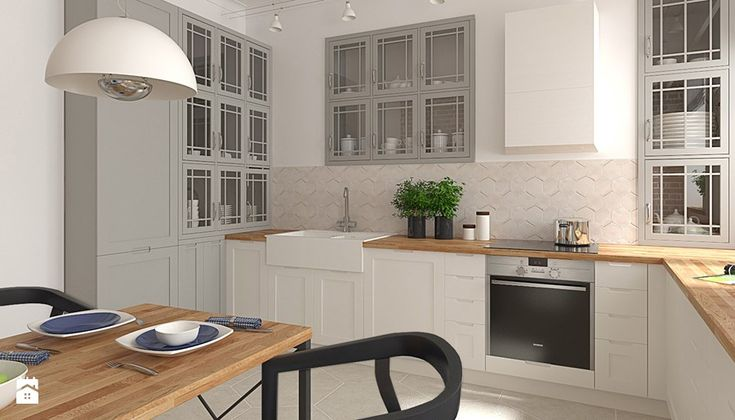 Kuchnia styl Skandynawski Kuchnia  zdjęcie od   -> Kuchnia Retro Ikea
