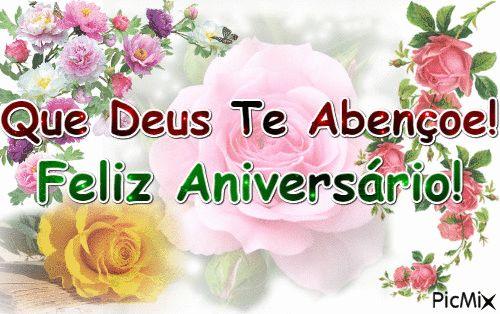Mensagem de Aniversário Que Deus te Abençoe