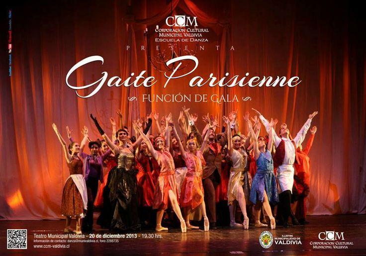 Viernes 20 de Diciembre Función de Gala Escuela de Danza valdivia