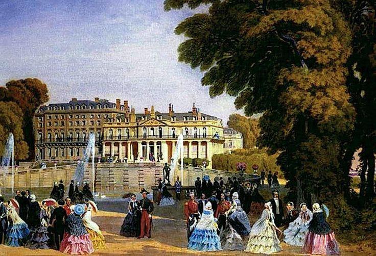 Saint-Cloud au temps de Napoléon III.