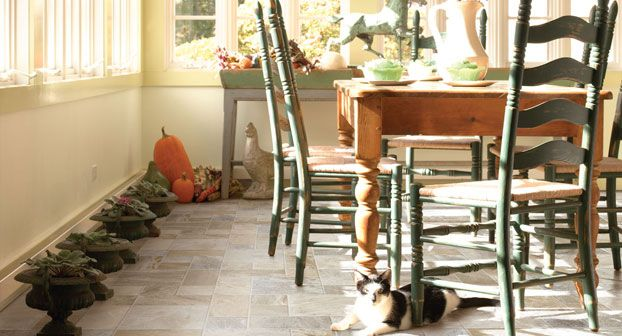 Mannington adirondack mountain mist laminate flooring for Adirondack bathroom ideas