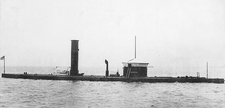 """""""USS CATAWBA"""" was a (225') Single Turreted Canonicus Class River Monitor – Commissioned: 7 June 1865 – Crew: 100 Officers, Enlisted – Armament: 2 × 15-inch (381mm) Dahlgren Smoothbore Cannon – Decommissioned and Aquired by Peru: 2 April 1868 and Renamed: """"ATAHUALPA"""" - During the War of the Pacific with Chile in 1879 was Scuttled (16 January 1881) To Keep out of Chile's Hands – Later Salvaged and Scrapped: Early 1900's"""