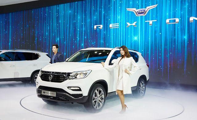 Το νέο SsangYong Rexton θα είναι ικανότατο εκτός δρόμου