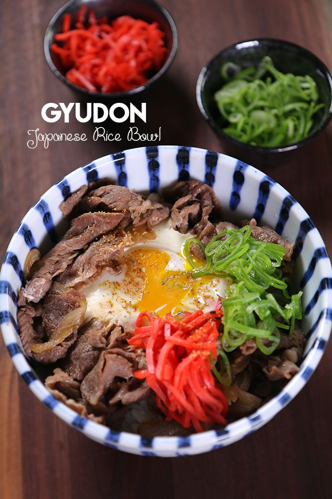 Hi guys! Humble, easy yet super scrumptious Japanese Beef Rice Bowl, Gyudon! The thin tender beef is cooked in gingery sweet soy sauce with onion then place right top of…