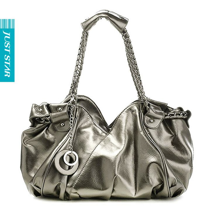 Aliexpress.com : Buy Hot 2012 women fashion glossy shimmery chain strap party shoulder tote evening hobo purse bag,silver gray/white,designer famous from Reliable korea style suppliers on SaraMary Handbag Wholesale . $29.28