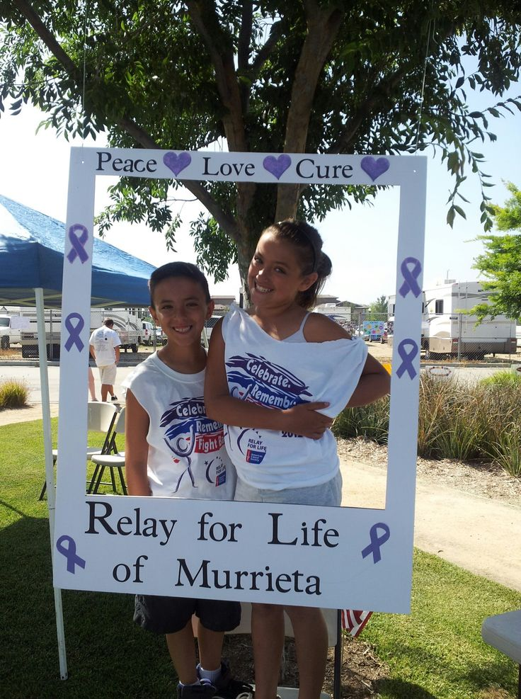 Relay for Life  photo booth!