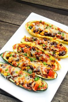 Easy healthy stuffed zucchini recipe