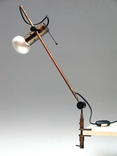 Tito Agnoli-  O-Luce Milan -1954 adjustable table lamp