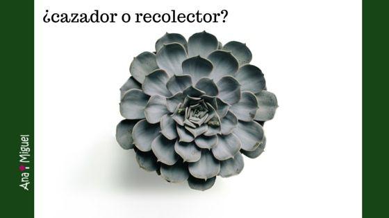 ¿Eres Cazador o Recolector?