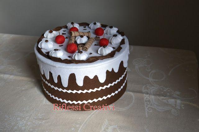 Riflessi Creativi: Panna, cioccolato e meringhe!!!