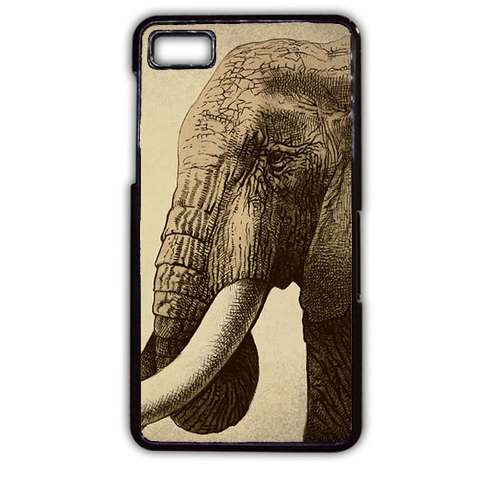Sad Elephant Phonecase Cover Case For Blackberry Q10 Blackberry Z10