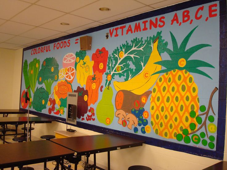 bulletin board ideas for cafeteria images | just b.CAUSE