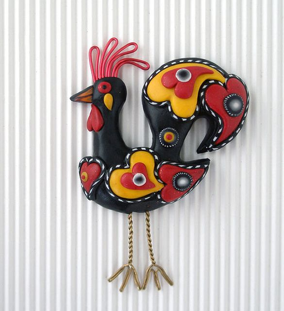 Galo de Barcelos Revisited 1 by quaz'arte, via Flickr