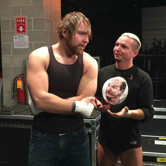 Dean Ambrose & James Ellsworth