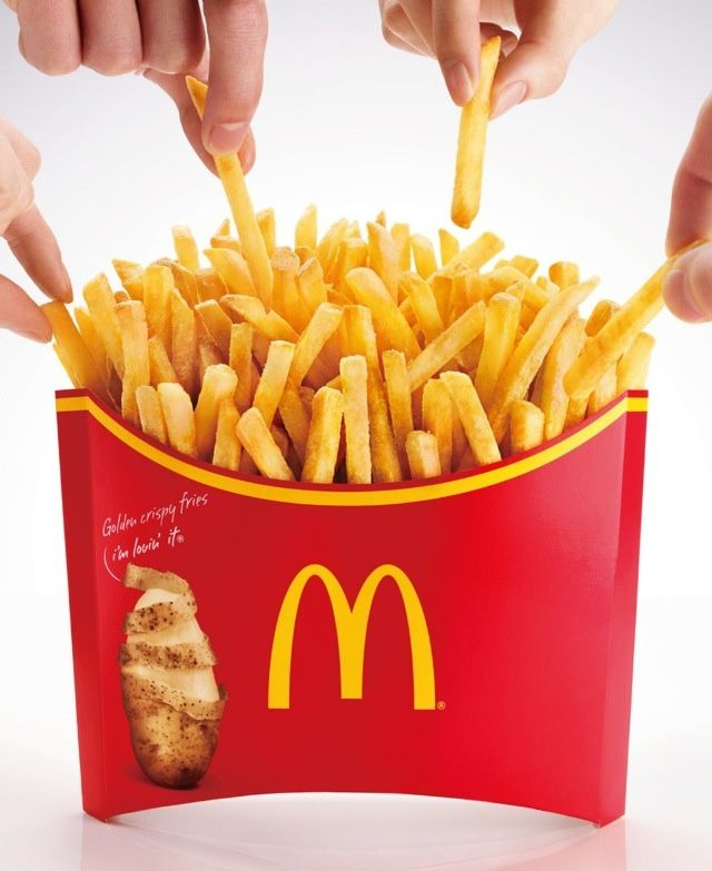 When Super sized isn't Super enough! In Japan, McDonalds Just Super-Sized the Crap Outta French Fries