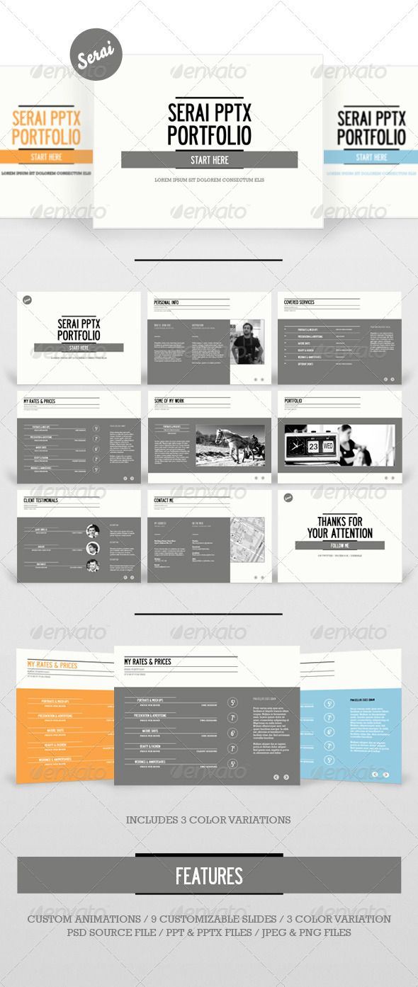 Serai Powerpoint Presentation - GraphicRiver Item for Sale
