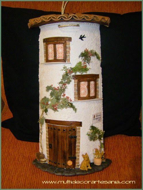 17 best images about fachadas de casas en teja on for Manualidades para casa rustica