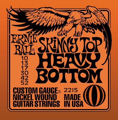 Ernie Ball 2215 Nickel Skinny Top/Heavy Bottom Electric Guitar Strings