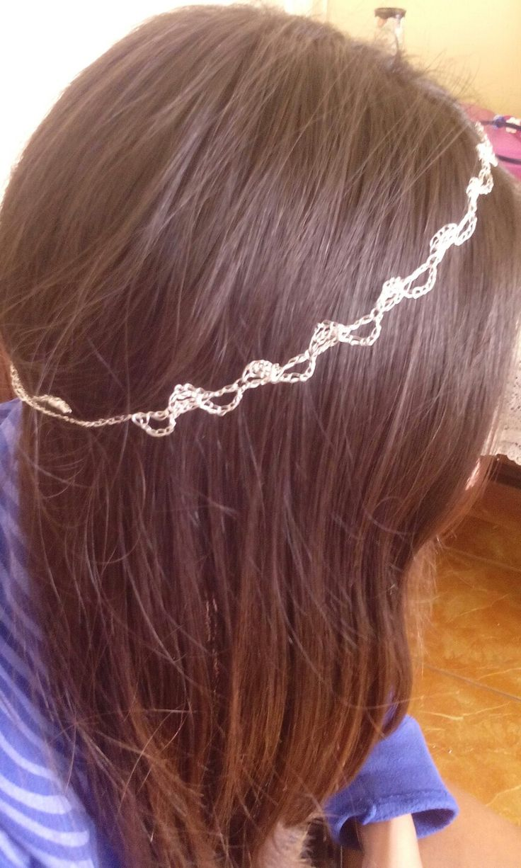 Headband crochet wire